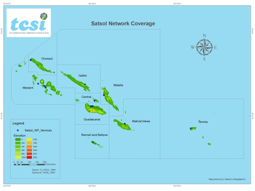 Satsol map